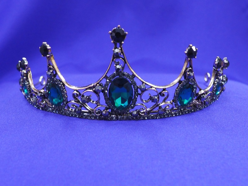 Emerald Princess Crystal Tiara CT47